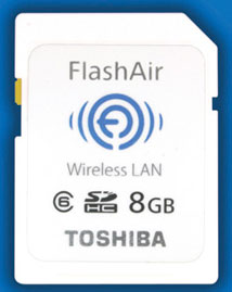 "Toshiba to Launch ""FlashAir™"", the World's First SDHC Memory Card with Embedded Wireless LAN Communications"
