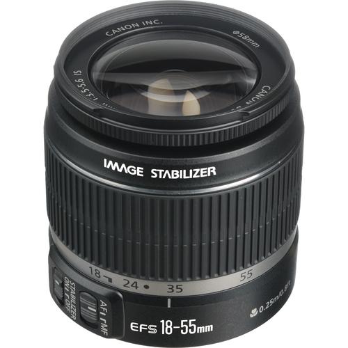 Canon EF-S 18-55mm f/3.5-5.6 IS Autofocus Lens Preview Mfr# 2042B002