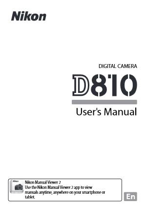 Nikon D810 Manual