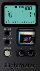 ilightmeter iPhone Light Meter Apps