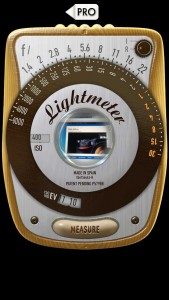 myLightMeter PRO Classic Mode IPhone Light Meter App