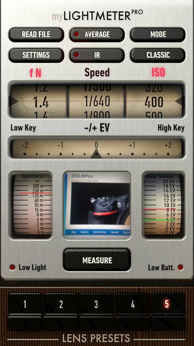 IPHONE LIGHT METER APPS | LIGHT METER | DSLRPro