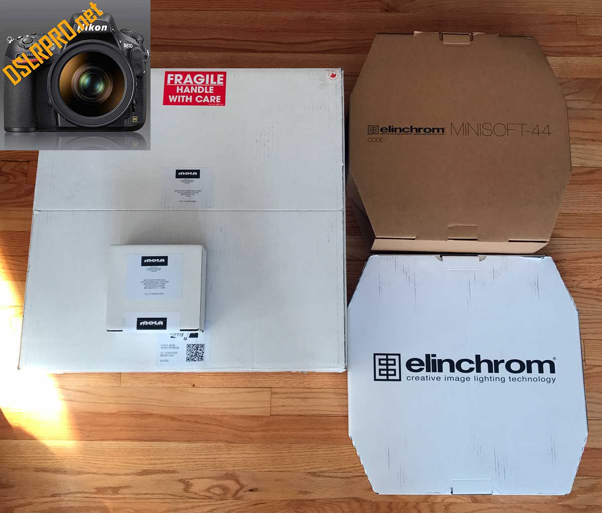 MOLA DEMI VS ELINCHROM BEAUTY DISH