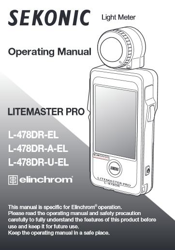 sekonic l 758dr manual pdf
