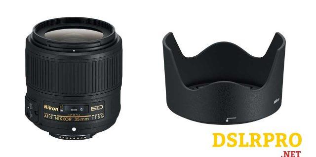 NIKON 2215 AF-S NIKKOR 35mm f/1.8G ED Lens