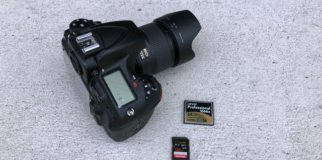 Best Memory Cards For Nikon D810