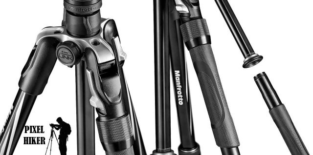 PICTURE OF A MANFROTTO BEFREE 2N1 COMBINATION TRIPOD and MONOPOD