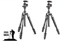 PICTURE OF MANFROTTO BEFREE 2N1 COMBINATION TRIPOD and MONOPOD, LEVER LOCK and TWIST LOCK MODELS