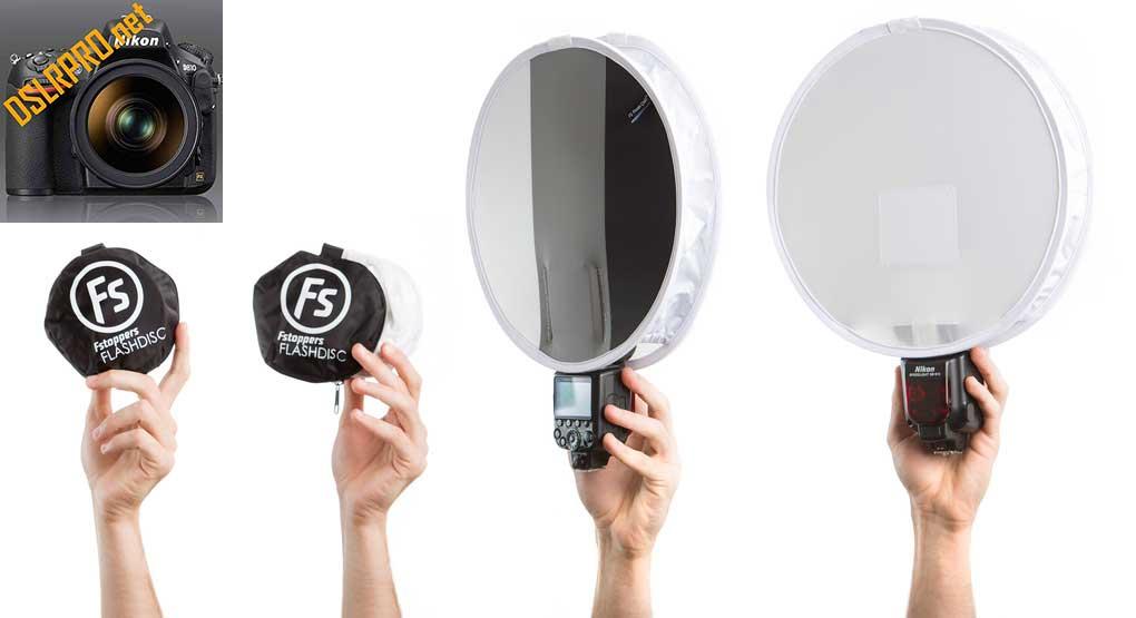 Fstoppers Flash Disc Portable Light Modifier