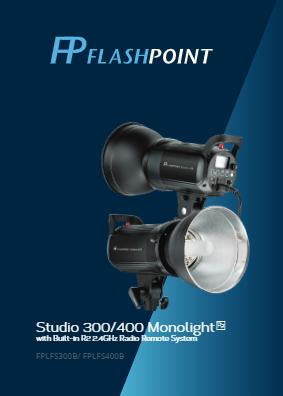 Flashpoint Studio 400 Monolight Manual