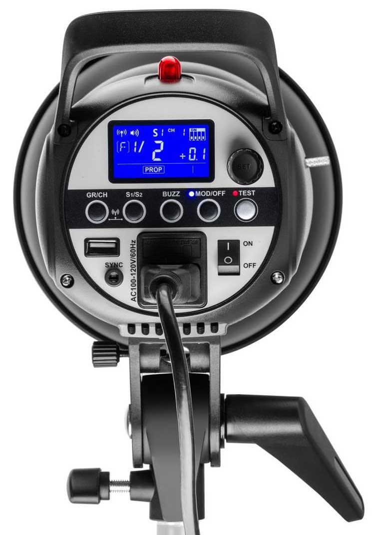 Flashpoint Studio 400 Monolight Rear View