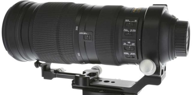 KES LS-2 Additional Support for Nikon AF-S 200-500mm Lens