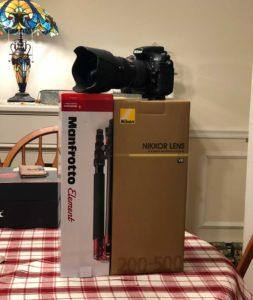 Nikon 200-500 f5.6 Special Buy at Adorama