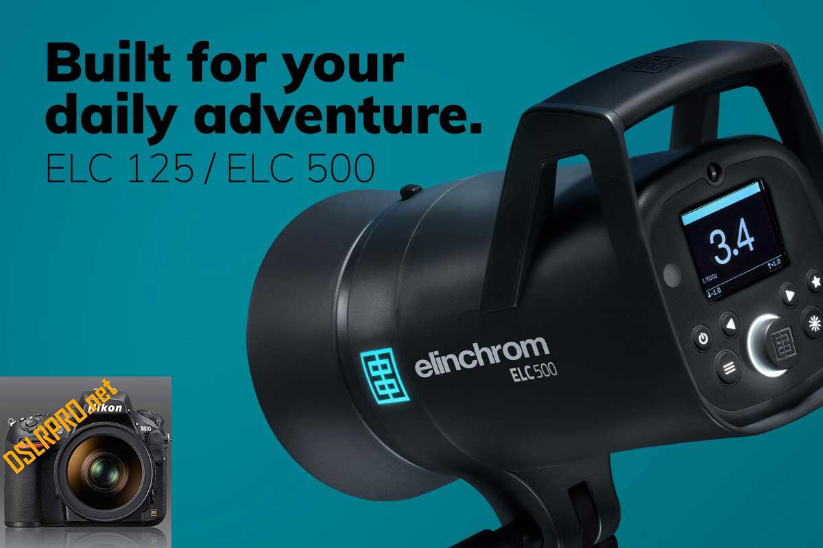 Elinchrom ELC 125 ELC 500 Studio Flashes
